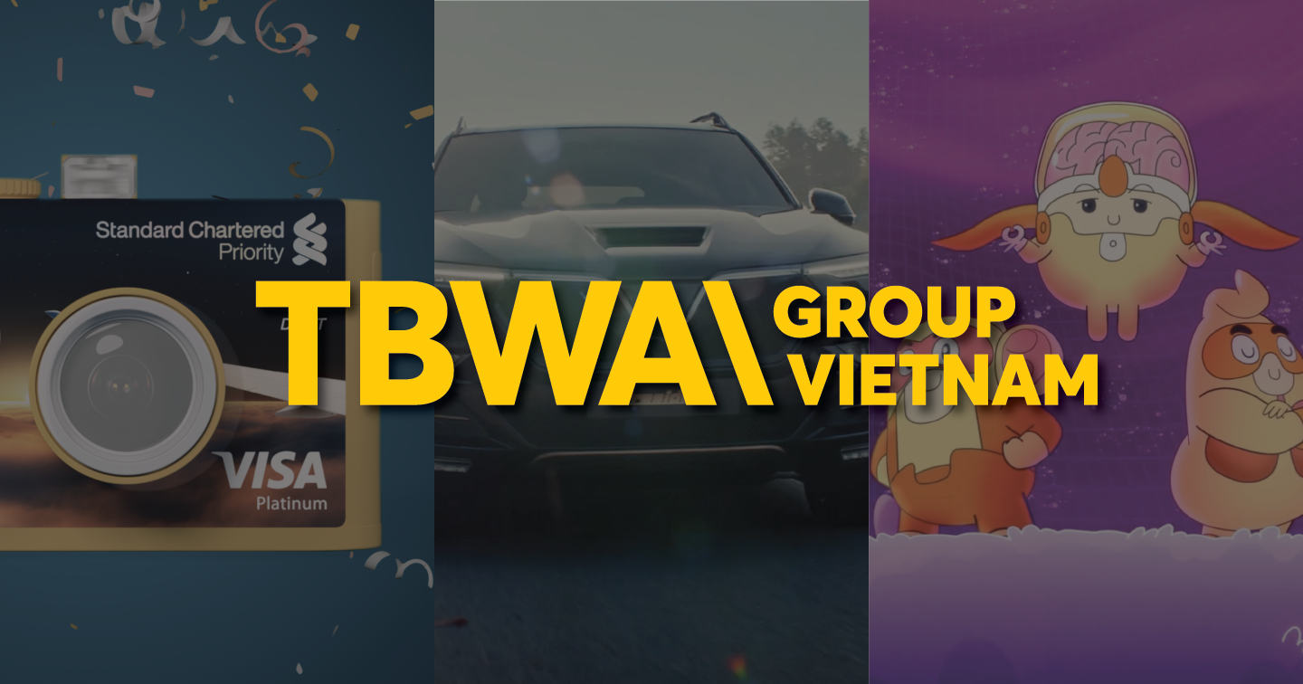 "Attend three campaigns to help TBWA\ Group Vietnam ""get gold"" at Agency of the Year 2020"