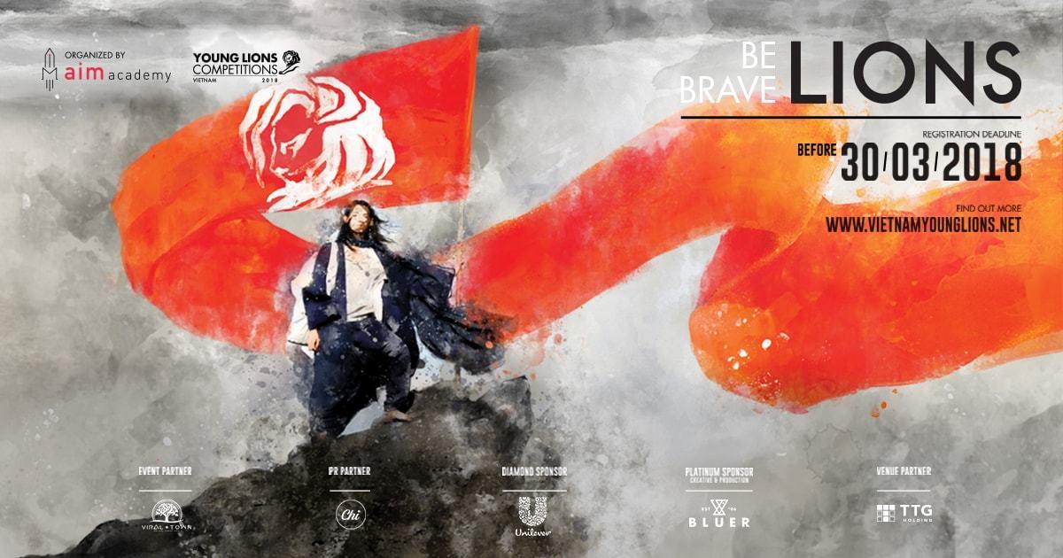 Vietnam Young Lions 2018 - BE BRAVE LIONS